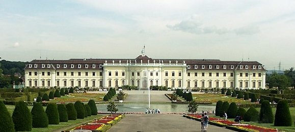 Ludwigsburg Palace — off-limits to common folk like Hyman and his family