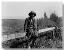 """Sandoval James Ortiz in 1882, just before his big guano strike in the area now known as """"Sandoval's Blight."""""""